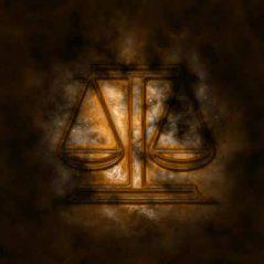 Libra zodiac sign image