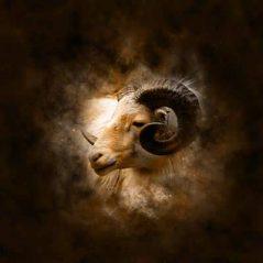 Aries zodiac sign image