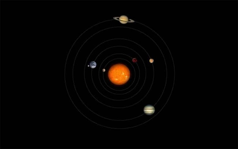 The solar system in ancient Greece